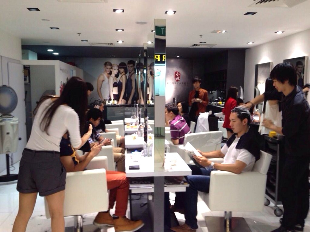 Top men 39 s hair salons in singapore for Hair salon 2
