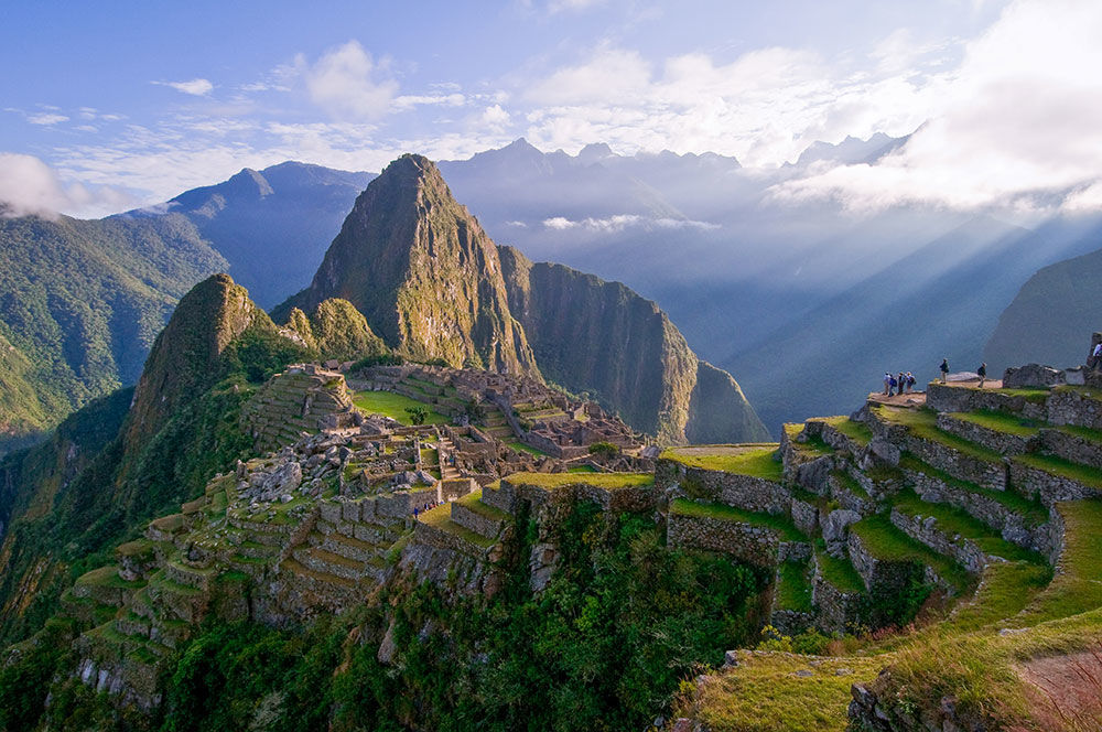 Visiting Machu Picchu is like stepping into a whole other realm